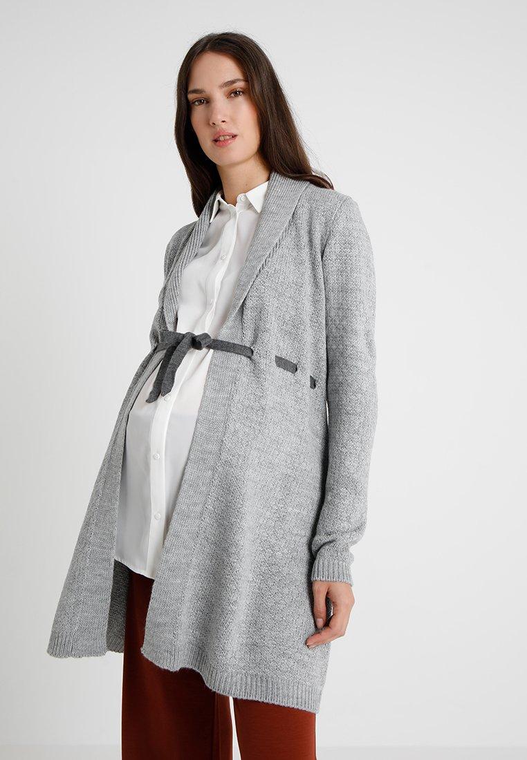 Anna Field MAMA - Cardigan - mottled light grey