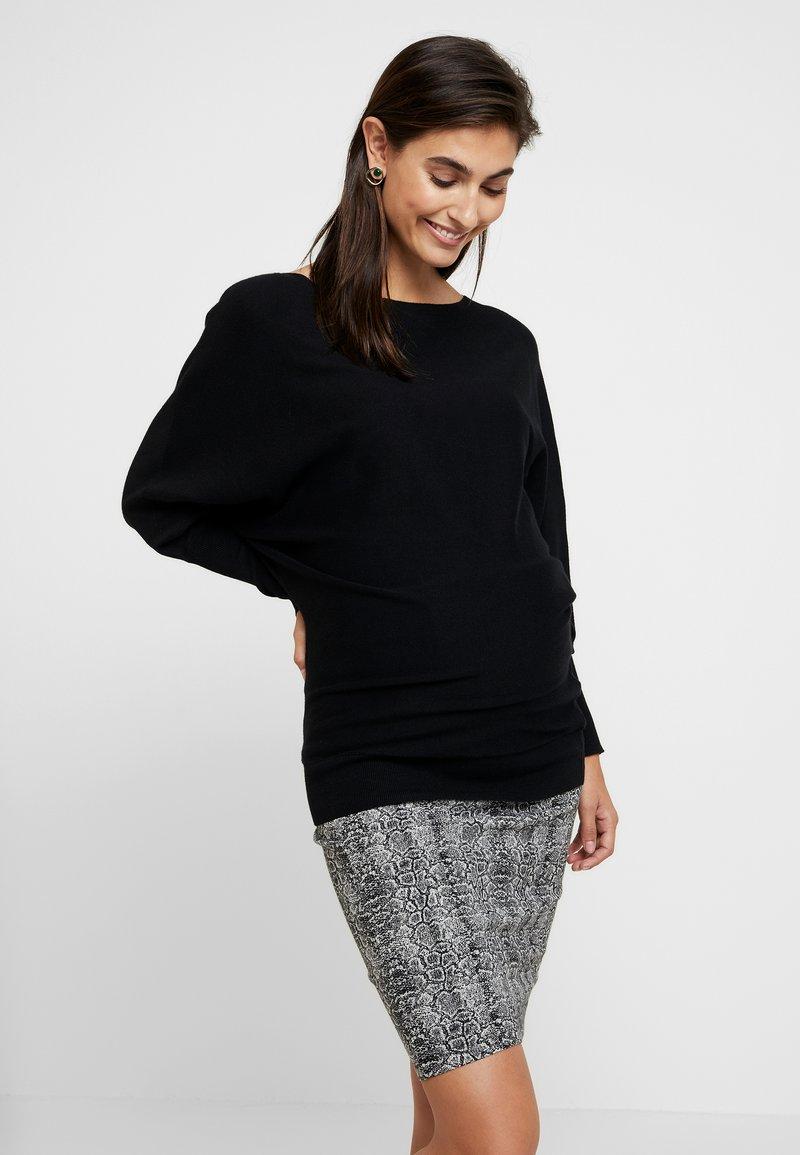 Anna Field MAMA - Pullover - black