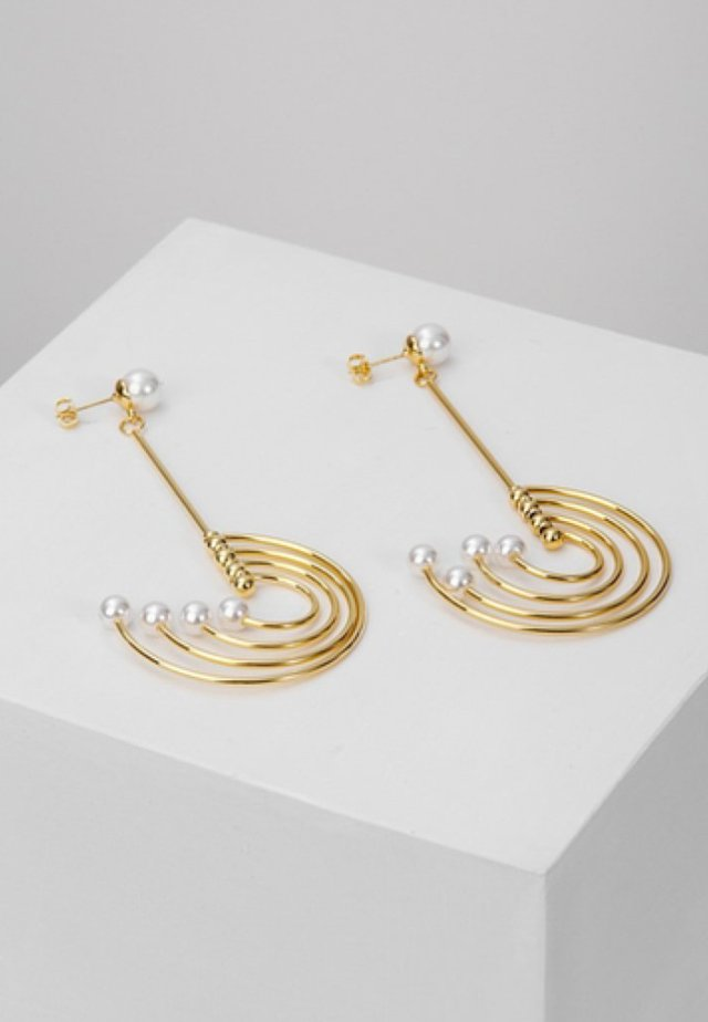 STATEMENT - Earrings - gold-coloured
