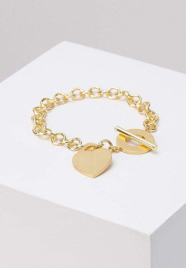 HEART CHAIN  - Bracelet - gold-coloured