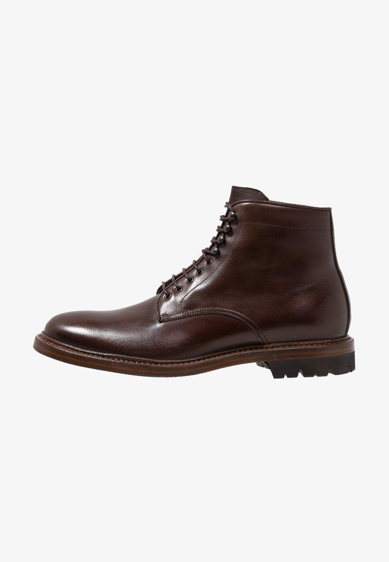 Franceschetti - Lace-up ankle boots - old princess corteccia