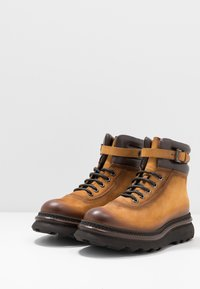 Franceschetti - Lace-up ankle boots - patagonia/testa di moro - 2