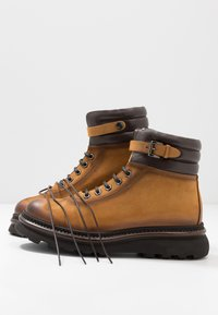 Franceschetti - Lace-up ankle boots - patagonia/testa di moro - 5