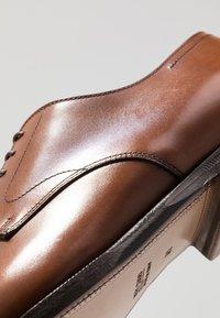 Franceschetti - Smart lace-ups - luxanil noce scuro - 6
