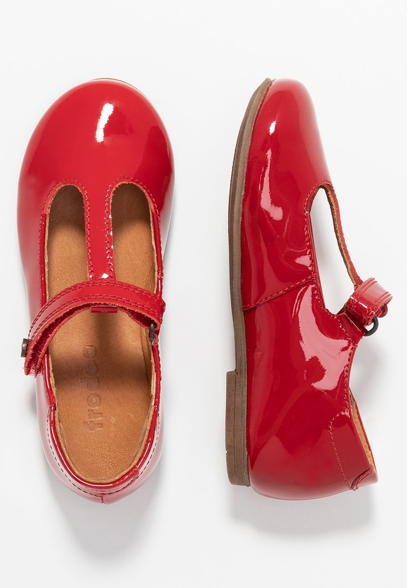 Froddo - Ballerina med reim - red
