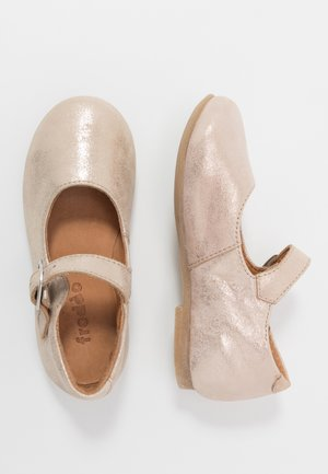FIONAS BUCKLE NARROW FIT - Ballerina's met enkelbandjes - gold