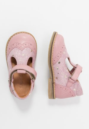 ELIS MEDIUM FIT - Ankle strap ballet pumps - pink