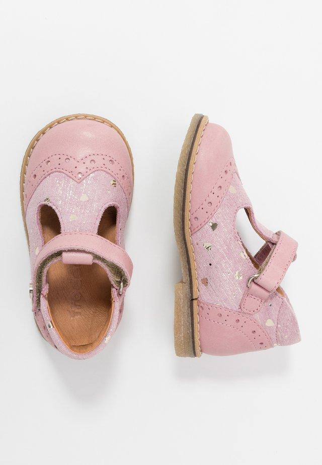 ELIS MEDIUM FIT - Ballerina med reim - pink