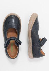 Froddo - MARI MEDIUM FIT - Ankle strap ballet pumps - dark blue - 0