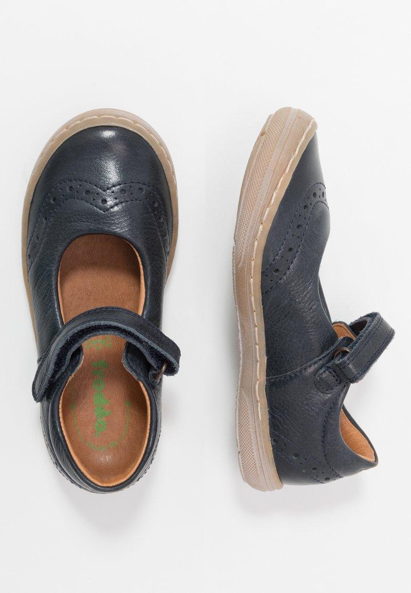 Froddo - MARI MEDIUM FIT - Ankle strap ballet pumps - dark blue