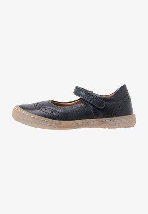 MARI MEDIUM FIT - Ankle strap ballet pumps - dark blue