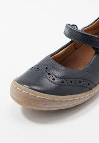 Froddo - MARI MEDIUM FIT - Ankle strap ballet pumps - dark blue - 2