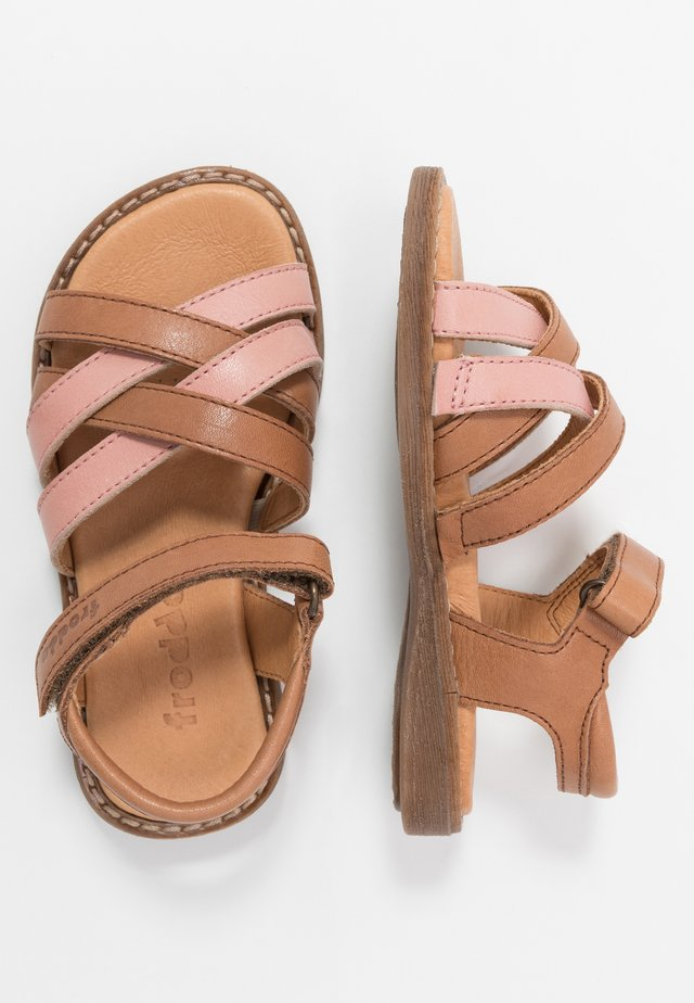 LORE STRAPS MEDIUM FIT - Sandalen - brown