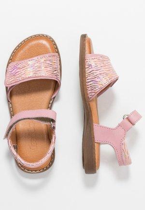 LORE SPARKLE MEDIUM FIT - Sandaalit nilkkaremmillä - pink