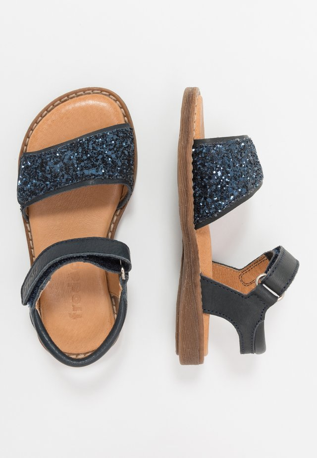 LORE SPARKLE MEDIUM FIT - Sandály - dark blue