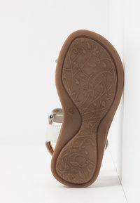 Froddo - LORE FLOWERS MEDIUM FIT - Sandals - white - 5