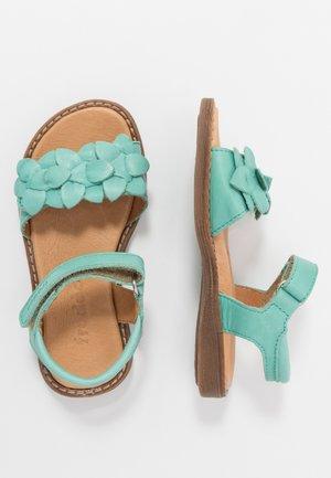 LORE FLOWERS MEDIUM FIT - Sandales - mint