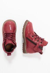 Froddo - Šněrovací kotníkové boty - bordeaux - 0