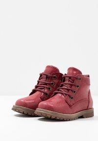 Froddo - Šněrovací kotníkové boty - bordeaux - 3