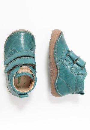 Baby shoes - petroleum