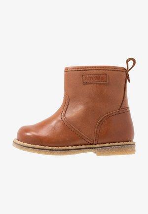 Dětské boty - cognac