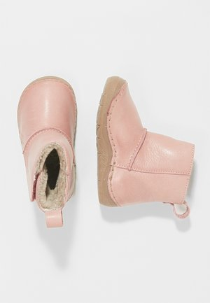 WARM LINING - Classic ankle boots - pink