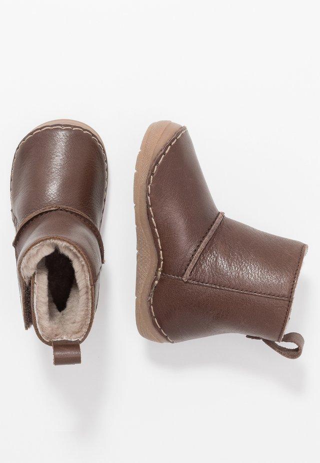 WARM LINING - Støvletter - dark brown