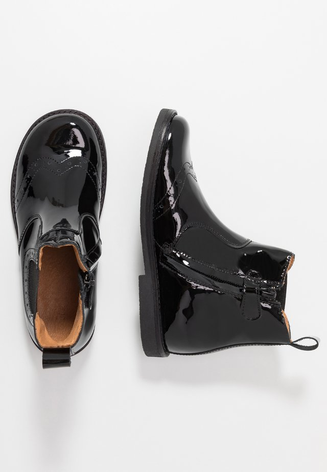 Støvletter - black patent