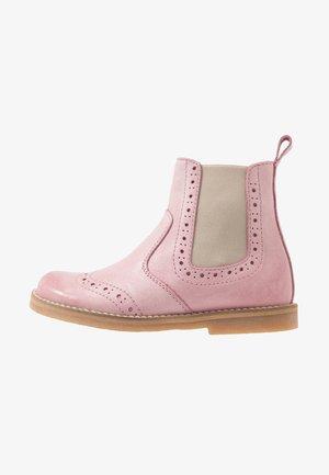 CHELYS BROGUE NARROW FIT - Korte laarzen - pink