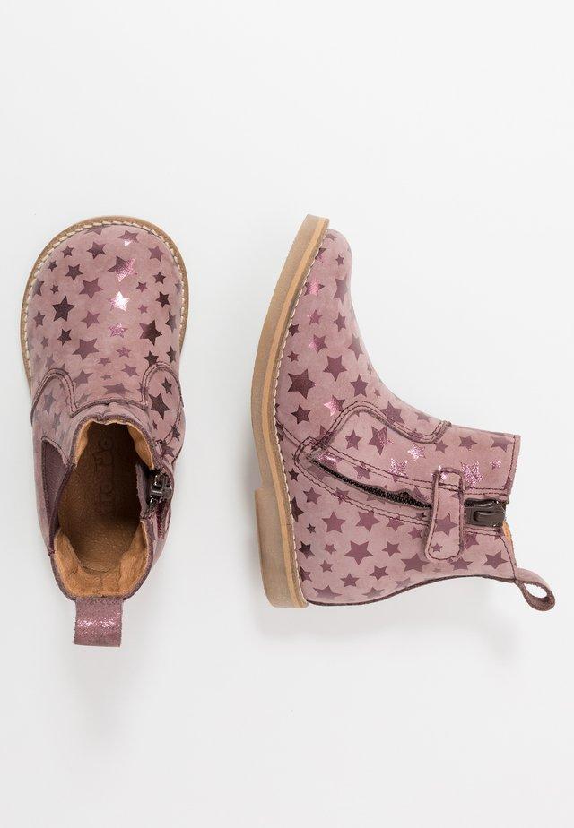 CHELYS NARROW FIT - Bottines - dark pink