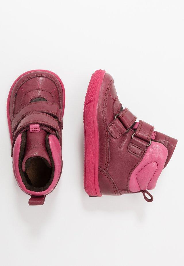 TRENTO TEX MEDIUM FIT - Chaussures premiers pas - bordeaux