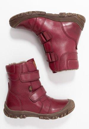 WARM LINING - Winter boots - bordeaux