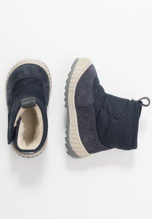 Lära-gå-skor - dark blue