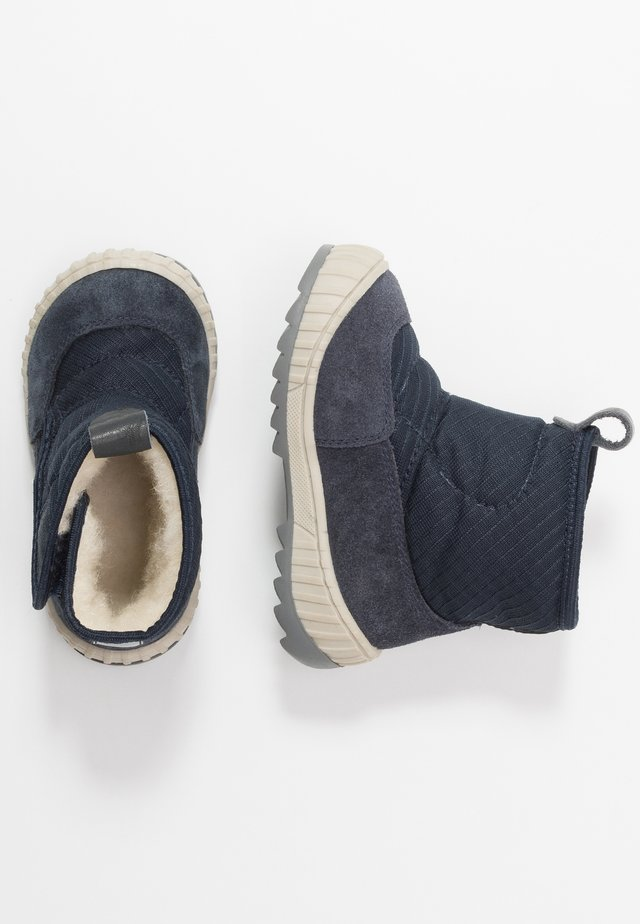 Baby shoes - dark blue