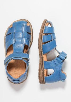 Sandaalit nilkkaremmillä - denim