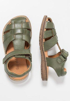Sandals - dark green