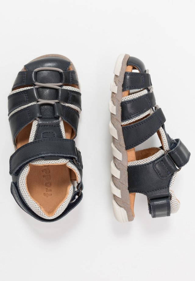 KARLO MEDIUM FIT - Walking sandals - dark blue