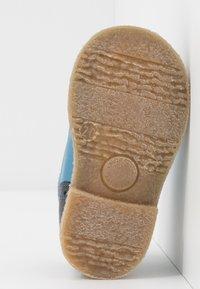 Froddo - COPER MEDIUM FIT - Volnočasové šněrovací boty - grey/blue - 5