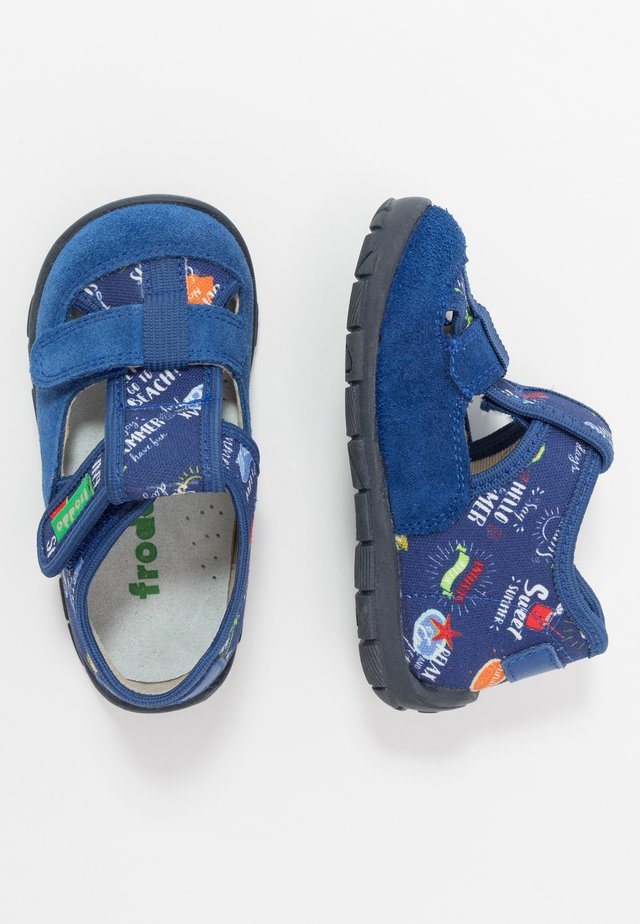 PARAPLI MEDIUM FIT - Slippers - blue electric