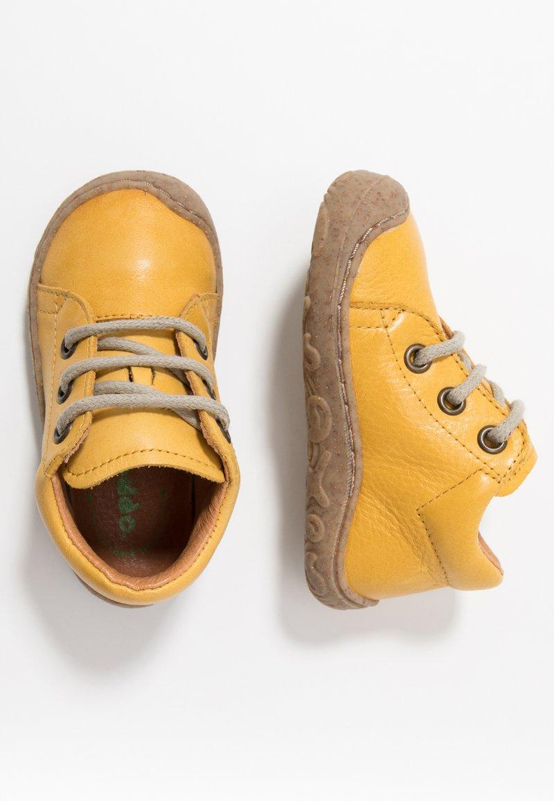 Froddo - SLIM FIT - Dětské boty - yellow