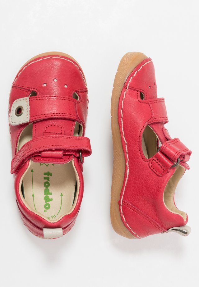 PAIX DOUBLE WIDE FIT - Babyschoenen - red