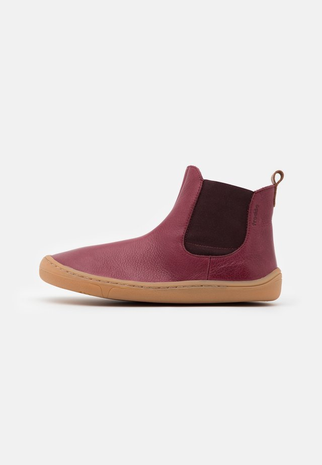 BAREFOOT CHELYS MEDIUM FIT UNISEX - Classic ankle boots - bordeaux