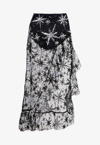For Love & Lemons - TARDUST ASYMMETRICAL SKIRT - Maxi skirt - black - 3