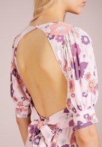 For Love & Lemons - MAGNOLIA DRESS - Robe longue - pink blossom - 4