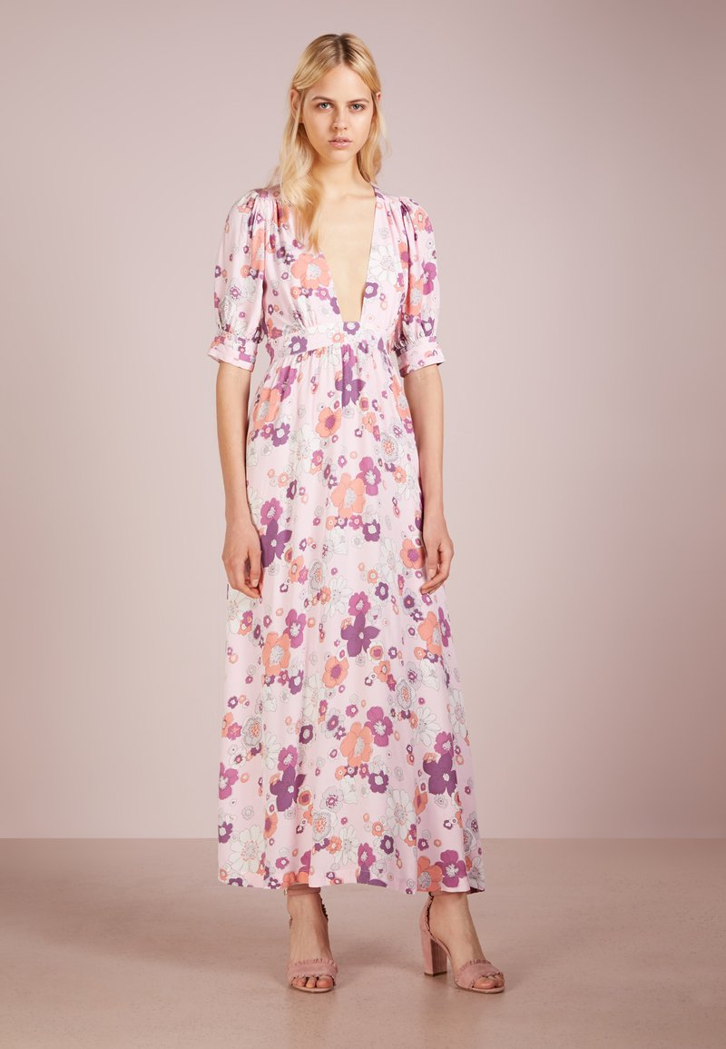 For Love & Lemons - MAGNOLIA DRESS - Robe longue - pink blossom