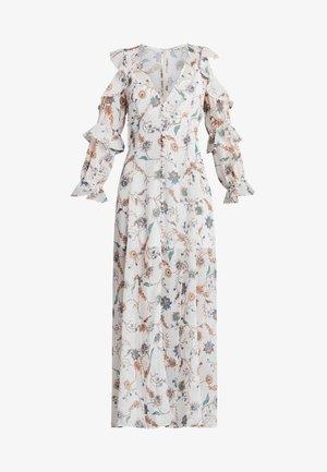 ELYSE RUFFLED MAXI DRESS - Vapaa-ajan mekko - lurex