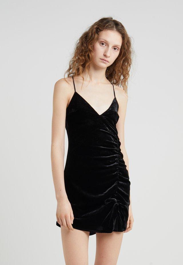 VIVA MINI DRESS - Vestito elegante - black