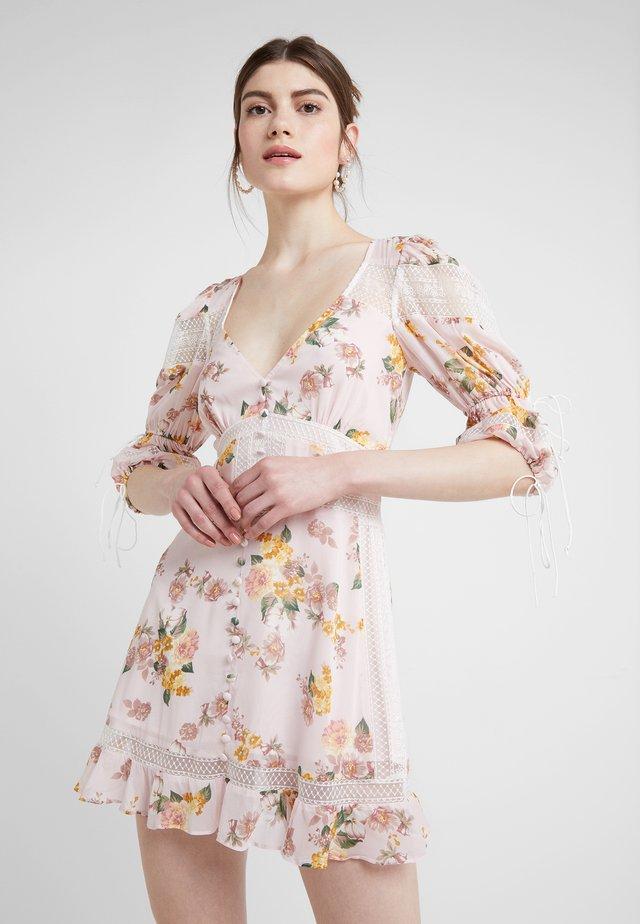 ISADORA MINI DRESS - Shirt dress - blush