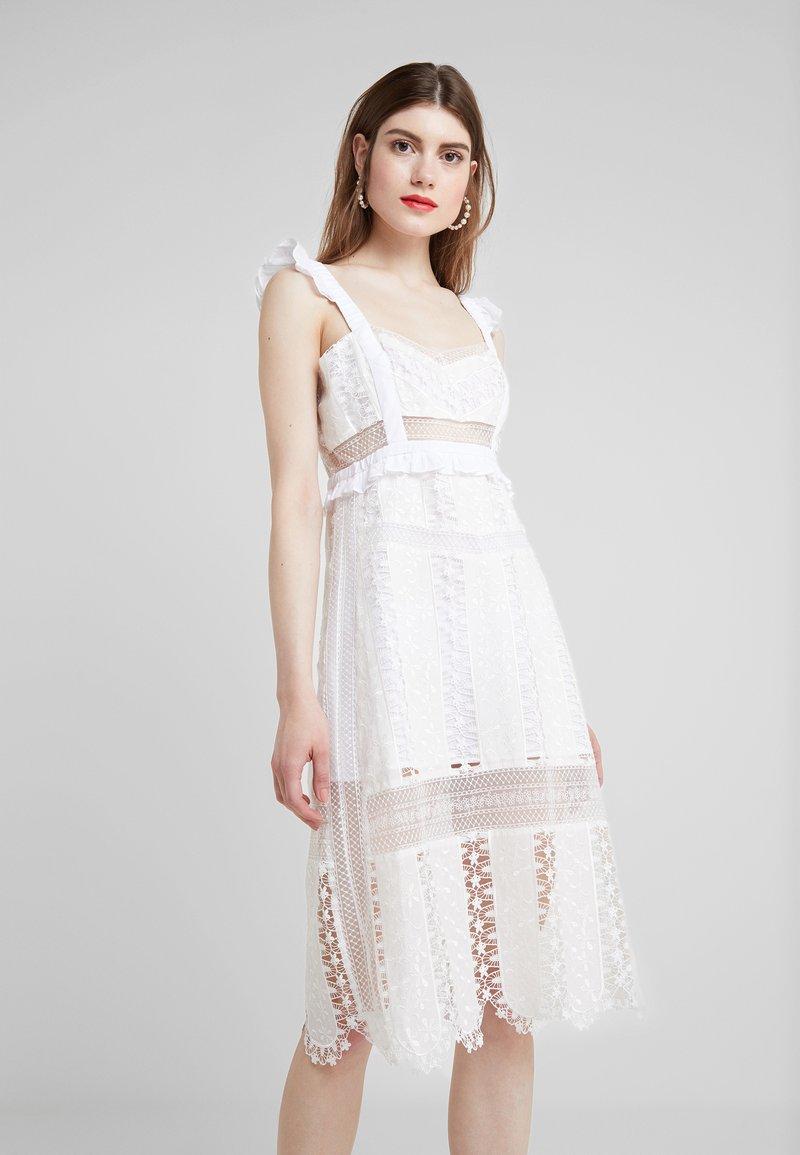 For Love & Lemons - GABRIELLE MIDI DRESS - Cocktail dress / Party dress - ivory