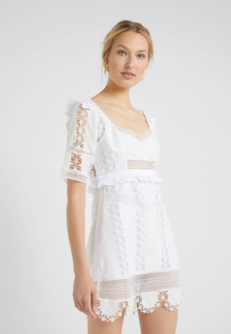 For Love & Lemons - AMANDINE MINI DRESS - Cocktail dress / Party dress - ivory